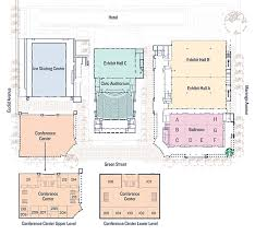 orange county convention center map facility pasadena convention center