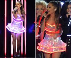 forget lbds ariana grande u0027s led light dress would definitely come