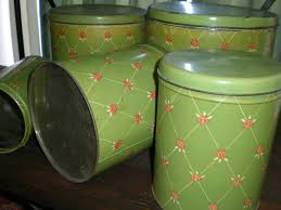 vintage metal kitchen canister sets 514 best canisters new images on vintage canisters