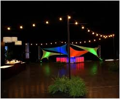 String Of Patio Lights Backyards Amazing Backyard Party Lighting Ideas Images Of Patio