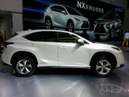 suv lexus 2014 lexus nx at auto china 2014 side indian autos blog