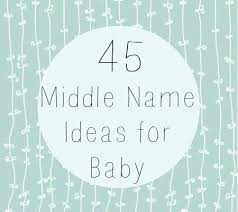 middle names middle names for baby disney baby