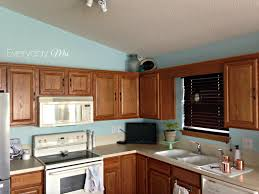 how to paint white for kitchen color ideas with oak cabinets image
