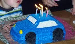 vw bug car cake