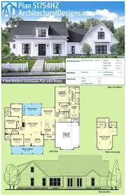 architectural designs plan modern farmhouse house plans