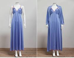 Vanity Fair Gowns And Robes Peignoir Set Etsy