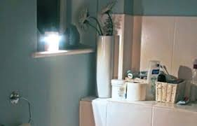 Battery Powered Bathroom Lights Bathroom Lights Battery Powered Motion Sensored Led