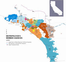 Santa Ana California Map California Water Districts Map California Map