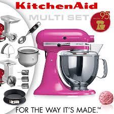 Kitchen Aid K45ss Kitchenaid Artisan Stand Mixer Multi Ice Set Raspberry Ice Ka
