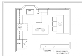 island kitchen floor plans kitchen floor plan teamr4v org