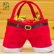 bulk christmas bags christmas gift bags in bulk felt santa christmas candy bag