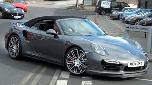 porsche cabriolet 2014 2014 porsche 991 turbo cabriolet start up and on the road youtube