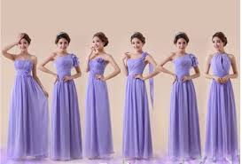 violet bridesmaid dresses customized size color lavender light purple bridesmaid dresses