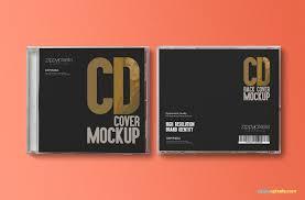 free cd jewel case u0026 label sticker mockup zippypixels