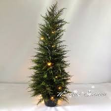 Lighted Tree Home Decor Outdoor Artificial Trees With Lights Outdoor Artificial Trees