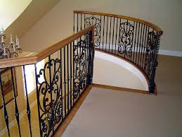 Banisters And Handrails Interior Railing Metal Fabrication Aluminum Fabrication