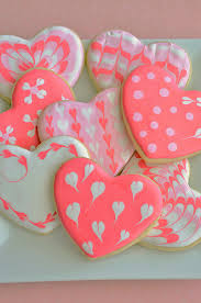 heart shaped cookies sugar cookie hearts