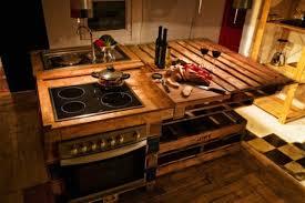 cuisine en palette bois meuble palette bois meubles en palettes de bois u comment faire et