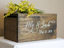 wedding box wedding card box money box rustic wedding rustic card box rustic