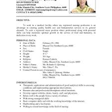 examples of resumes resume sample for job application for sample