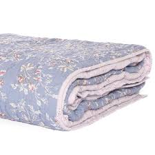 leila floral quilt blue lt pink u2013 rachel ashwell shabby chic couture