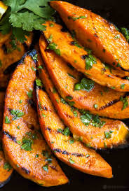 thanksgiving yams recipe grilled sweet potatoes recipe simplyrecipes com