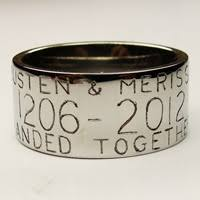 duck band wedding rings engraverdave