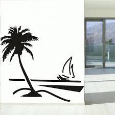 wall ideas large palm tree wall decor smile palm tree wall art