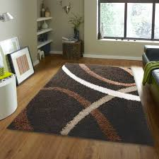Modern Floor Rug Shag Rugs Modern Area Rug Contemporary Abstract Or Solid Shaggy