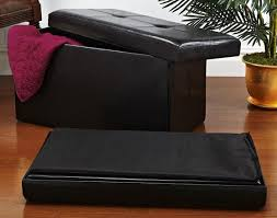 Folding Storage Ottoman Great Collapsible Storage Ottoman Custom Foldable Storage Ottoman