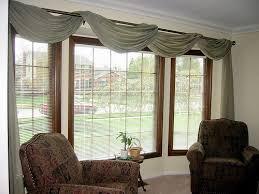 Valances For Kitchen Bay Window Excellent Bay Window Treatment Ideas Bay Window Treatments In Pictures Within Valances For Living Room Windows Modern Jpg