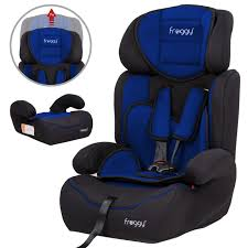 Sié E Auto 123 Isofix Froggy Adjustable Baby Child Car Seat Booster Seat 1 2 3