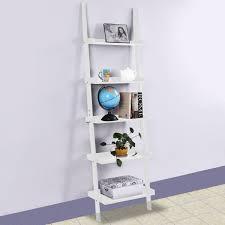White Ladder Bookcase by White Ladder Shelves Medium Image For Ladder Bookshelves Plans