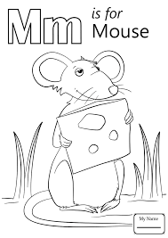 Coloring Pages For Kids Letters And Alphabet Classic Letter M M Coloring Pages