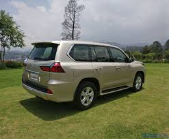 lexus india mumbai lexus lx 450d review swanky spread first drive