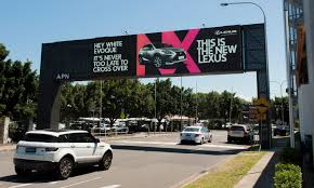 lexus ads look lexus uses u201csmart u201d billboards to talk to motorists