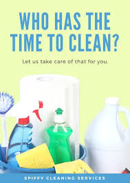 lime green and blue cleaning supplies service flyer templates by