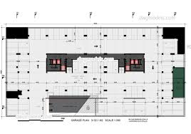 Cad Floor Plans by Garage Plan Dwg Free Cad Blocks Download