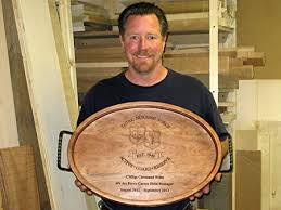 engraved serving trays retirement gifts personalized gathering wood