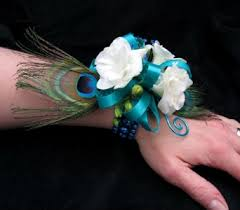 turquoise corsage prom corsages by dodge the florist in portland me