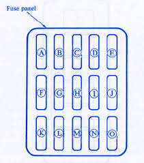 mazda rx7 2002 mini fuse box block circuit breaker diagram
