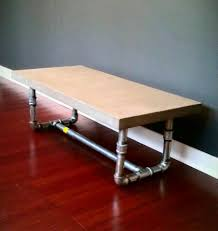 Diy Pipe Desk by Pipe Leg Coffee Table Concrete Table Top Concrete Coffee Table
