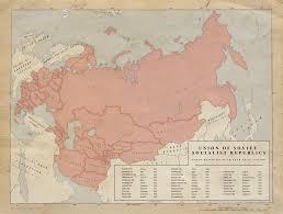 Ussr Map 1 Ussr Union Republics 1958 By Kuusinen On Deviantart