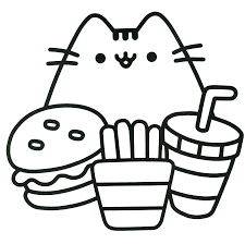 cat coloring pages images pusheen coloring book pusheen pusheen the cat pusheen coloring