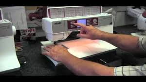 pfaff quilt expression 4 0 memphis sewing machine youtube