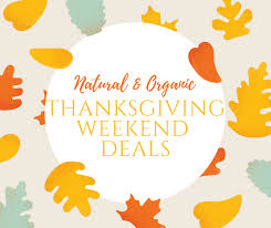 organic thanksgiving weekend deals organic meal mechanic