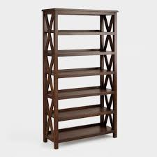 Office Bookcases With Doors Office Crafted Of Metal With Rustic Finish Two Doors Three Fixed