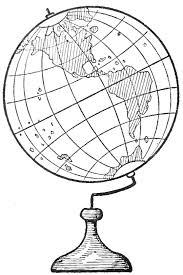 how to draw world globes with easy step by step drawing tutorial