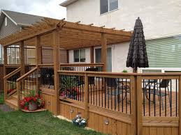 Pergola Deck Designs by Best 25 Pergola Attached To House Ideas Only On Pinterest