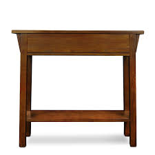 Sofa Back Table by Amazon Com Leick Mission Hall Console Table Russet Kitchen U0026 Dining